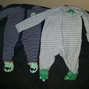 Long Sleeve Infant Sleepers